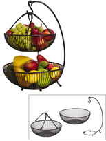 Mikasa Gourmet Basics Spindle 2 Tier Basket With Banana Hook