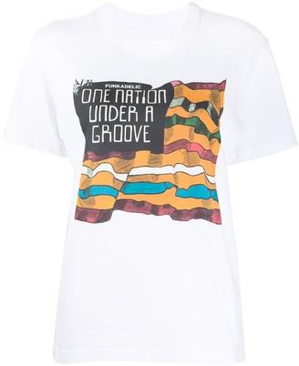Sacai Funkadelic crewneck T-shirt