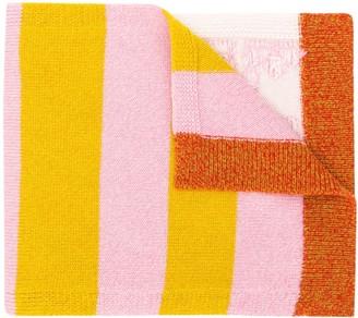 Barrie Stripe Detail Scarf
