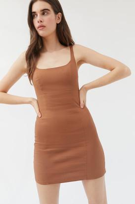 Urban Outfitters Winona Linen Mini Dress