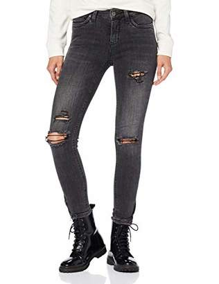J!NS ONLY NOS Women's Onlkendell ANK Zip DNM JNS Cre Noos Skinny Jeans