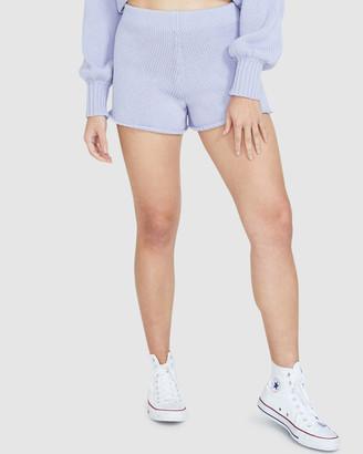 Subtitled Tatum Knit Shorts