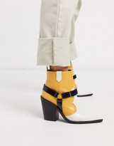Asos Design DESIGN Everyday western boots with harness