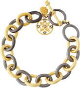 Freida Rothman Signature Charm Chain-Link Bracelet