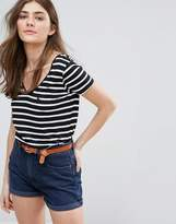 Jack Wills Cross Back Detail Stripe Top