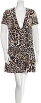 Just Cavalli Leopard Print Mini Dress w/ Tags