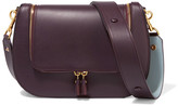 Anya Hindmarch Vere Leather Shoulder Bag - Plum