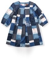 Tea Collection Girl's 'Boro' Sateen Patchwork Dress