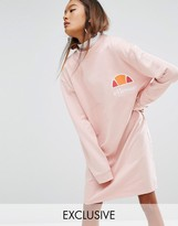 Ellesse Relaxed High Neck Sweat Dress
