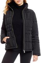 Calvin Klein Short Faux Fur Trim Down Jacket