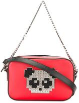 Les Petits Joueurs panda shoulder bag - women - Calf Leather/Lamb Skin/Brass - One Size