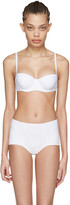 Dolce & Gabbana White Wired Bikini Top