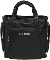 Bikkembergs Faux Leather Tote Bag