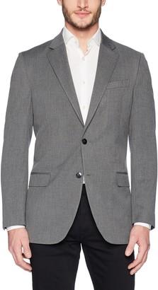 Nautica Men's Bi-Stretch Slim Fit Suit Separate (Blazer and Pant) Grey 38 S