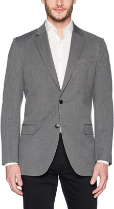 Nautica Men's Bi-Stretch Slim Fit Suit Separate (Blazer and Pant) Grey 44 S