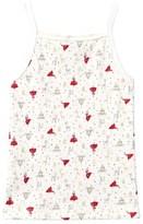 Petit Bateau White Glitter Christmas Vest
