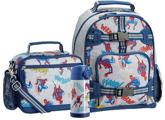 Pottery Barn Kids Mackenzie Spiderman Glow-in-the-dark Cold Pack Lunch Bundle, Set Of 3