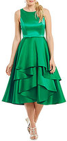 Adrianna Papell Sleeveless Tiered Fit & Flare Dress