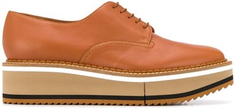 Clergerie Berlin wedge oxfords