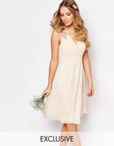 TFNC WEDDING Embellished Shoulder Prom Dress