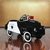 The Well Appointed House BARGAIN BASEMENT ITEM: Dexton Police Comet Sedan Pedal Car for Kids