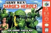 """Nintendo CGC Huge Poster - Army Men Sarge's Heroes 64 N64 - N64005 (16"""" x 24"""" (41cm x 61cm))"""