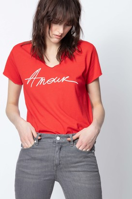 Zadig & Voltaire Mc Amour T-Shirt