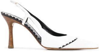 Chanel Pre-Owned 2000's pointed sling-back pumps