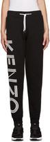 Kenzo Black Logo Lounge Pants