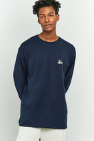 Stussy Basic Long-sleeve Navy T-shirt