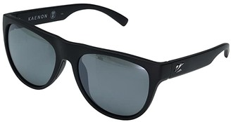 Kaenon Moonstone (Black Label/Grey 12 Polarized Black Mirror) Sport Sunglasses