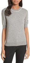 Kate Spade Women's Pearly Embellished Sweater