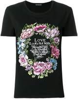Alexander McQueen wreath print T-shirt