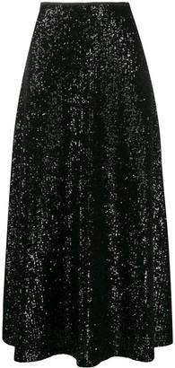 In The Mood For Love Sequin Full Skirt