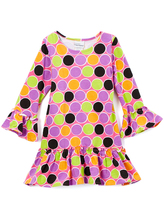 Flap Happy Sugar Dots Lizzy Drop-Waist Dress - Infant, Toddler & Girls
