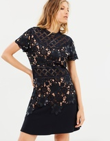The Kooples Fit & Flare Lace Dress