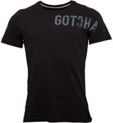 Gotcha Mens Printed Fashion T-Shirt Black
