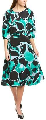 Diane von Furstenberg Bliss Silk Midi Dress