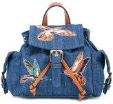 RED Valentino denim mini backpack