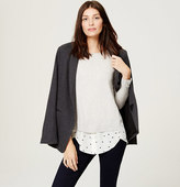 LOFT Starry Two-In-One Sweater
