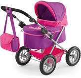 Bayer Trendy Doll's Pram - Pink & Purple