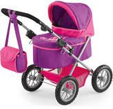 Bayer Trendy Pink/Purple Dolls Pram