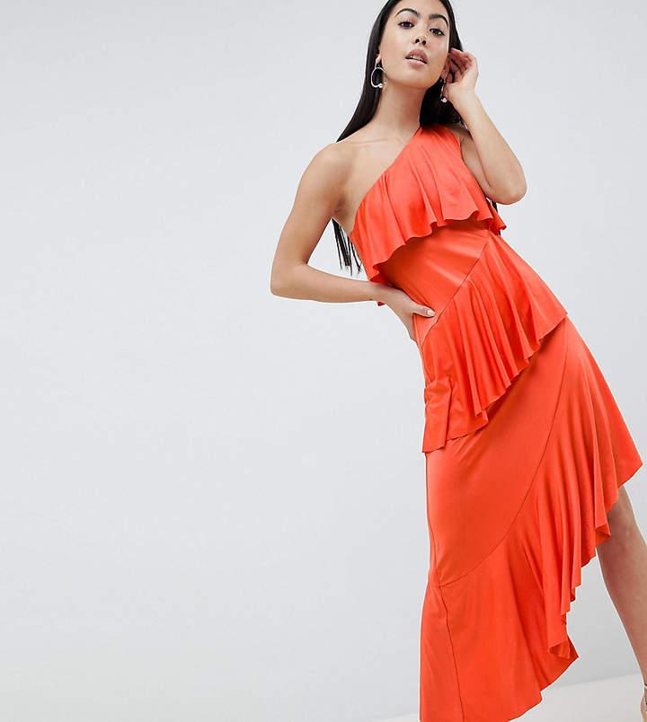 8374bdf4e0ff Asos One Shoulder Dresses - ShopStyle