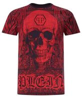 Philipp Plein Swarovski Skull T-shirt