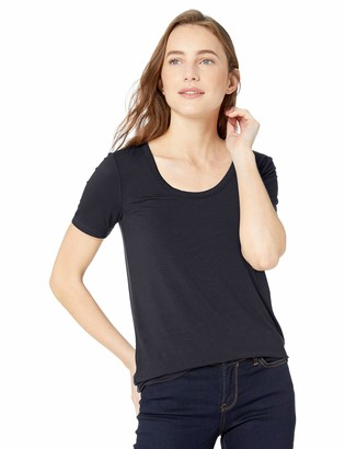Daily Ritual Amazon Brand Women's Jersey Short-Sleeve Scoop Neck Shirt