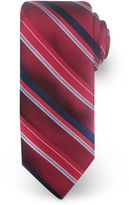 Haggar Big & Tall Extra-Long Striped Microfiber Tie
