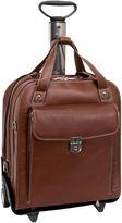 McKlein McKleinUSA Pastenello 15.6 Leather Vertical Detachable -Wheeled Laptop Briefcase