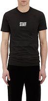 """Vetements Men's """"Staff"""" Cotton T-Shirt"""