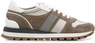 Brunello Cucinelli Colour Block Low-Top Sneakers