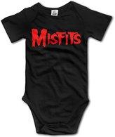 TLK Baby Onesie TLK Misfits Logo Babys Bodysuit Outfits Size 6 M